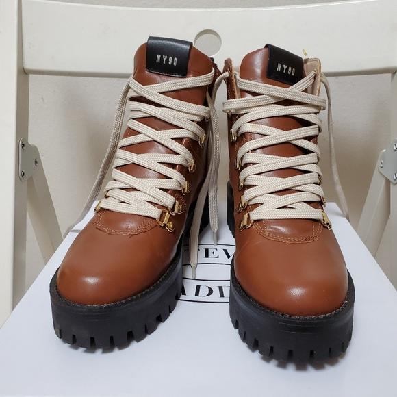 4bfd2c6e643 NWB Steve Madden Bam Hiker Booties Sz 7.5